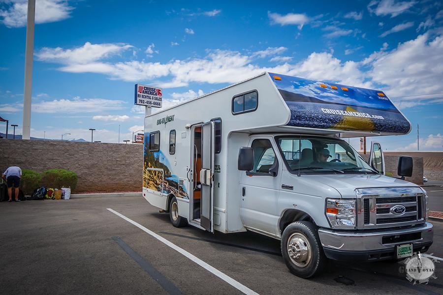 Camping Car au KOA Las Vegas